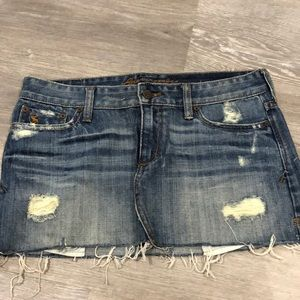 Abercrombie denim mini skirt